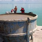 Víz alatti betonozás kikötőben 1